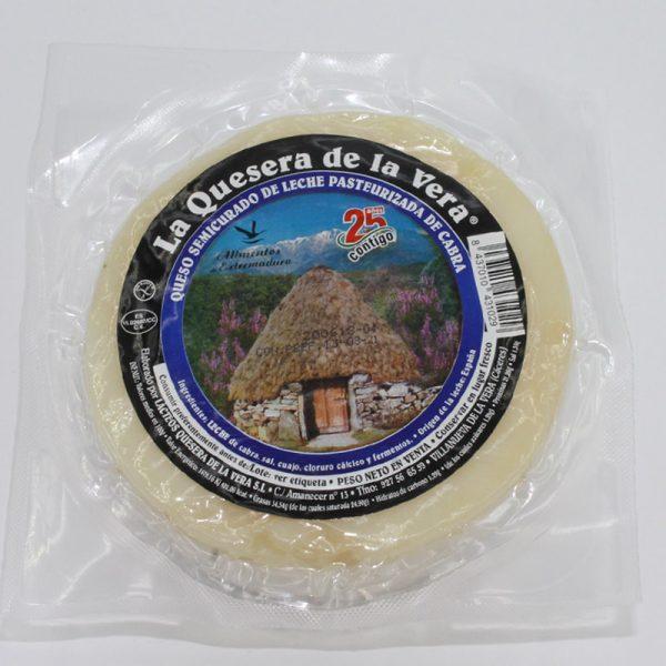 Comprar queso de cabra semicurado natural envasado