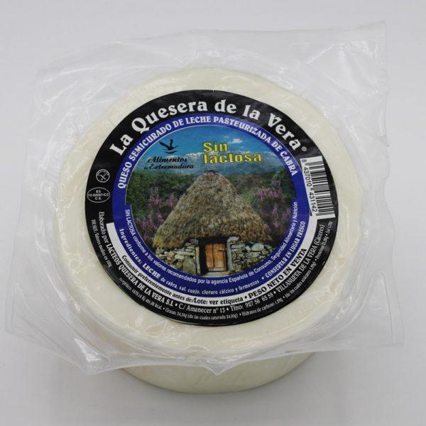 Comprar queso de cabra semicurado sin lactosa envasado