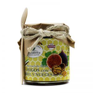 Mermelada artesana de higos con miel y nueces