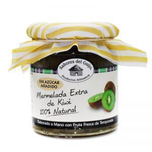 Mermelada de kiwi artesana sin azúcar