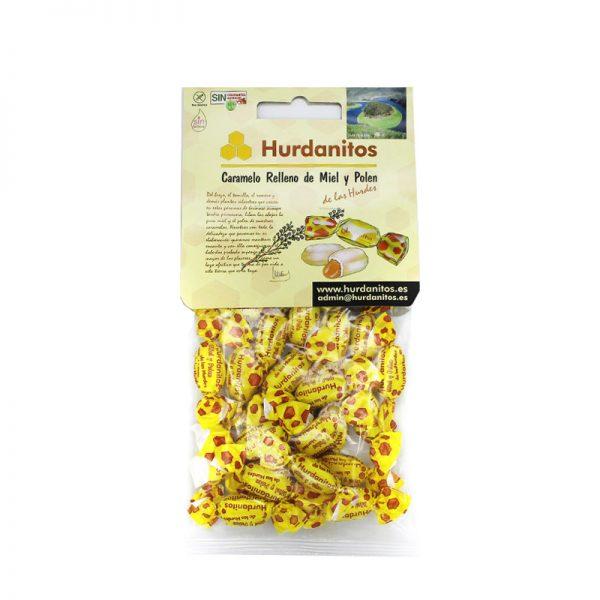 Caramelos hurdanitos de miel y polen
