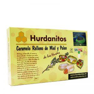 Caramelos hurdanitos miel y polen caja