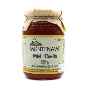 Miel de tomillo Montenava