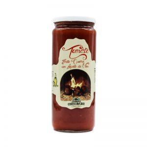 Tomate frito casero con aceite de oliva
